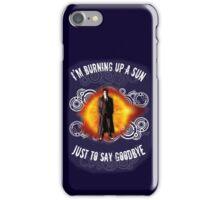 Doctor Who Burning a Sun iPhone Case/Skin