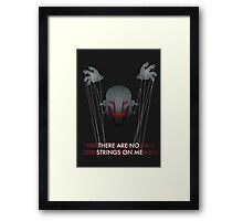 AGE OF ULTRON - THERE ARE NO STRINGS ON ME Framed Print