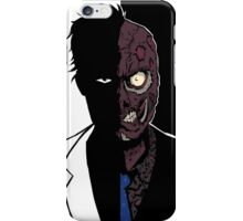 Two Face - Duality iPhone Case/Skin