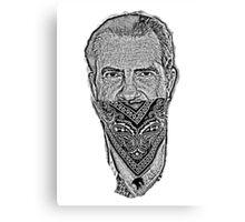 gangster richard nixon Canvas Print