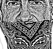gangster richard nixon Sticker