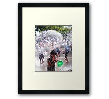 Songkran Thai New Year Framed Print