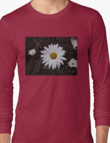 Daisies in the Garden Long Sleeve T-Shirt