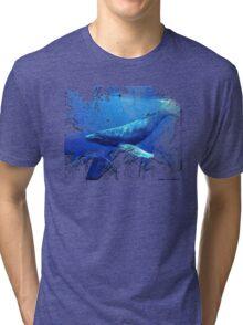 magnificent whales Tri-blend T-Shirt