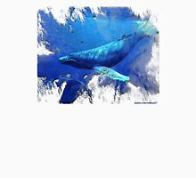 magnificent whales Mens V-Neck T-Shirt