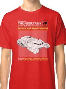 Thundertank Service and Repair Manual Classic T-Shirt