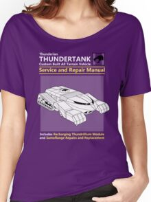 Thundertank Service and Repair Manual Women's Relaxed Fit T-Shirt