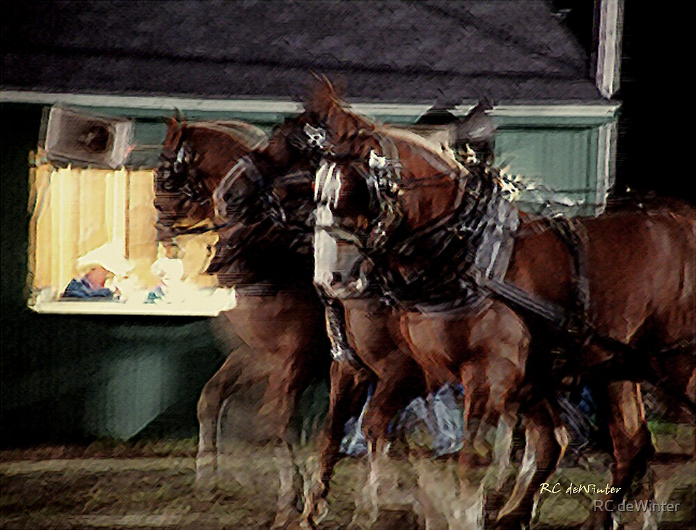 The Night Pull No. 4 by RC deWinter