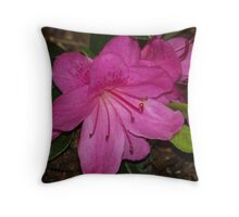 Floral Blossom Throw Pillow