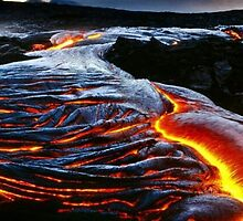 Lava Flow by WhiteDove Studio kj gordon
