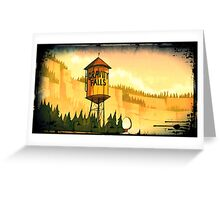 "Gravity Falls- ""Water Tower"" Greeting Card"