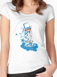 Kaito Kid - Don't forget the Poker Face! Women's Fitted Scoop T-Shirt