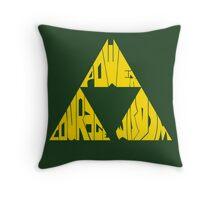Triforce Full Throw Pillow