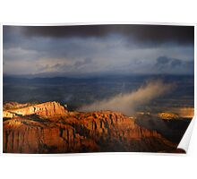 Bryce Canyon Storm Poster