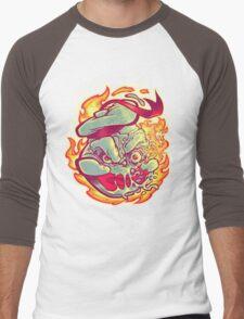 ROASTED MARSHMALLOW MAN Men's Baseball ¾ T-Shirt