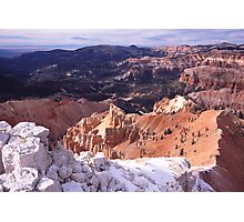 Cedar Breaks Portrait Photographic Print