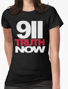 9/11 Truth Now Womens Fitted T-Shirt