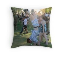 There's always one.. Throw Pillow