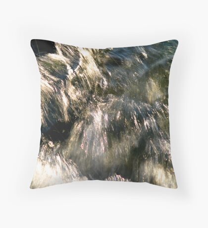 Lightwave Throw Pillow