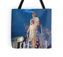 Radiating music to the world Tote Bag