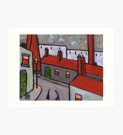 Industrial Town  Art Print