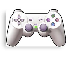 Video Game Controller Canvas Print