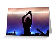 Party girl Greeting Card