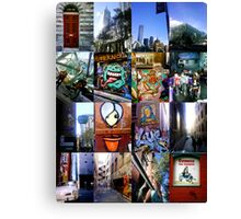melbourne by mobile Canvas Print