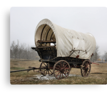 An'  Wheres Cookie? The Chuck Wagon   Canvas Print