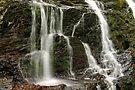 Dead Creek Falls - Side Stream by Stephen Beattie