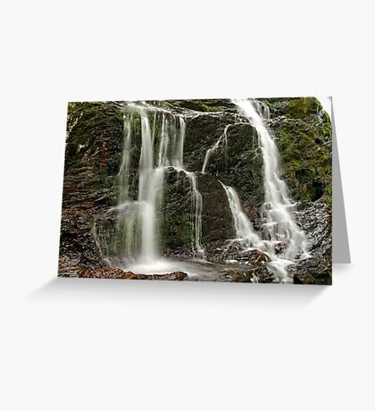 Dead Creek Falls - Side Stream Greeting Card