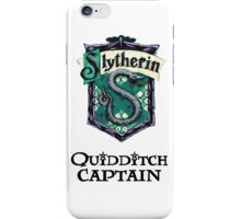 Slytherin Quidditch Captain iPhone Case/Skin