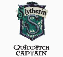 Slytherin Quidditch Captain Kids Clothes