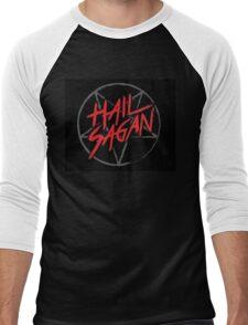 Hail Sagan! Men's Baseball ¾ T-Shirt