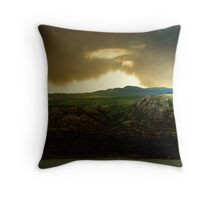 Stones and the lights of home. Throw Pillow