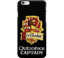 Gryffindor Quidditch Captain iPhone Case/Skin