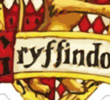Gryffindor Quidditch Captain Sticker