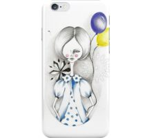 lady baloon iPhone Case/Skin