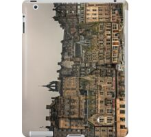 Crowded Old Town iPad Case/Skin