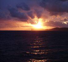 Sardinia Sunset by Andrea Naylor