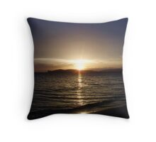 Sardinia - Calm after the storm Throw Pillow