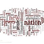 President Obama's Inauguration Speech by Dave Rowley