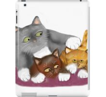 Stop that meows Momma Cat iPad Case/Skin