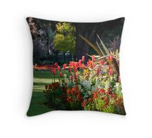 Lower Gardens, Bournemouth 1 Throw Pillow