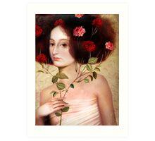 Der Blumenstrauss Art Print