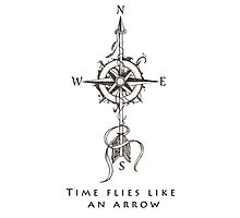 Time flies like an arrow Photographic Print