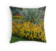 Lower Gardens, Bournemouth 4 Throw Pillow