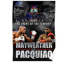 Pacquiao vs Mayweather Poster
