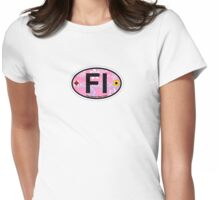 Fire Island - New York. Womens Fitted T-Shirt