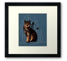 Cat-Bacca Framed Print